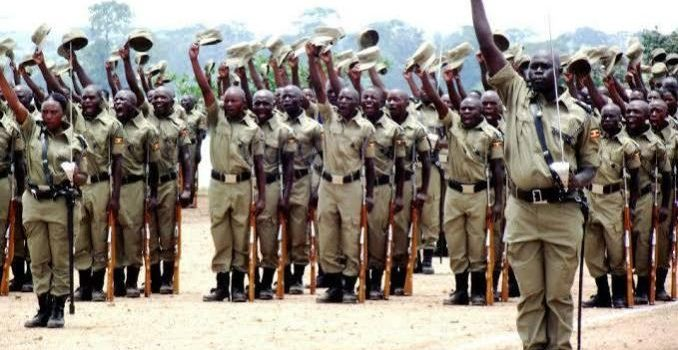 5,000 Police Recruits to start training this Saturday.