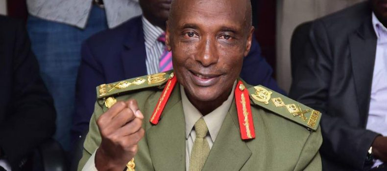 Former Uganda Police boss General Kale Kayihura blasts U.S. after Sanctions.