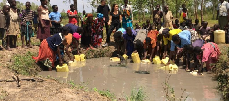 Residents of kafunjo 1 and 11 villages in Bufunda division lack clean water.