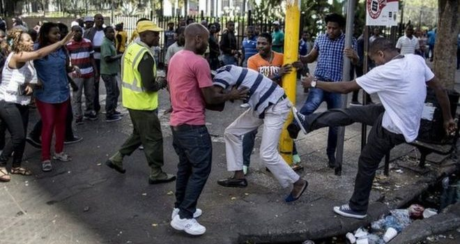 South Africa's high commissioner Monroe denies Xenophobia attacks on Nigerians