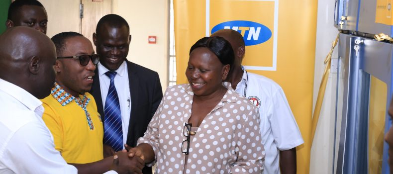 Authorities warn against Selling Blood as MTN Foundation donates 3 Storage Refrigerators and Component Extractor.