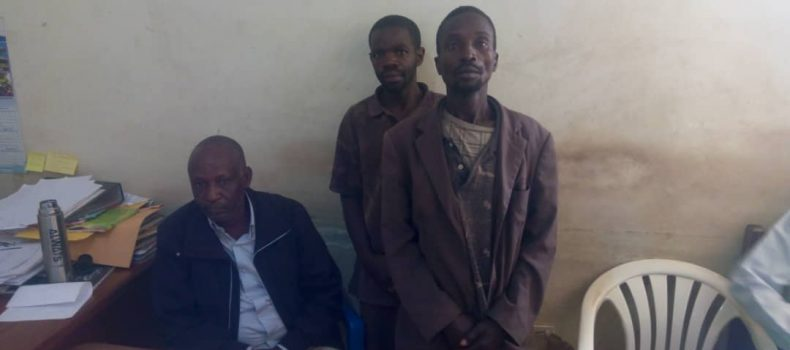 Three Arrested for Stealing a cow in Kashari Mbarara District.