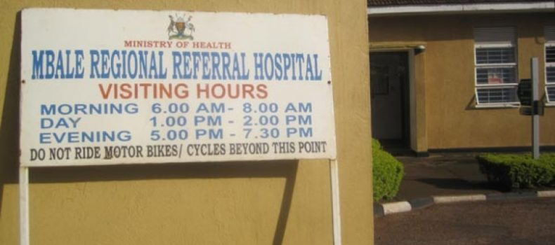 Mbale regional referral hospital on the spot for burying unclaimed dead bodies.