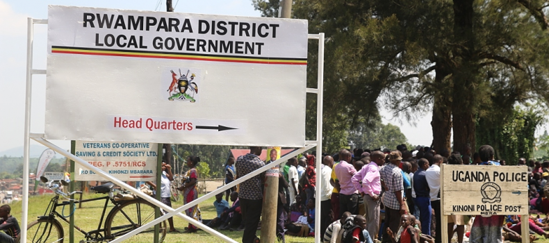 Rwampara district leaders have asked government to intervene in choosing the interim leadership