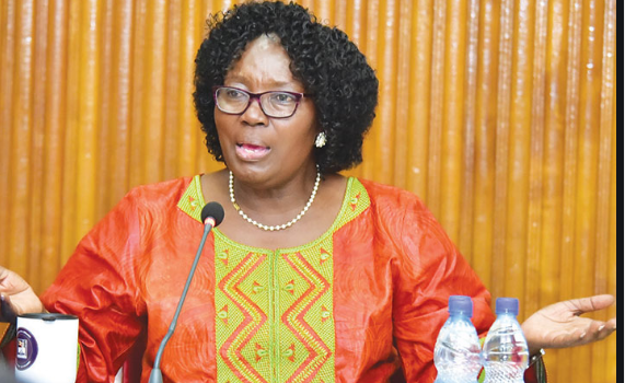 Kadaga condemns The Ministry of Education and Sports over failing to secure funds for all students that apply for students loans.