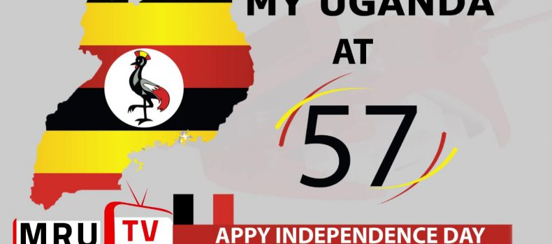 Uganda celebrates 57 years of independence today