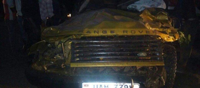 Mbarara-Masaka highway accident claims three people.