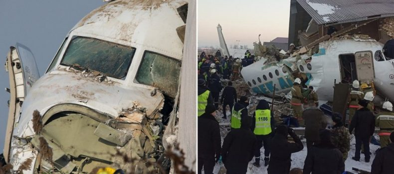 Fifteen die as plane crashes in Kazakhstan