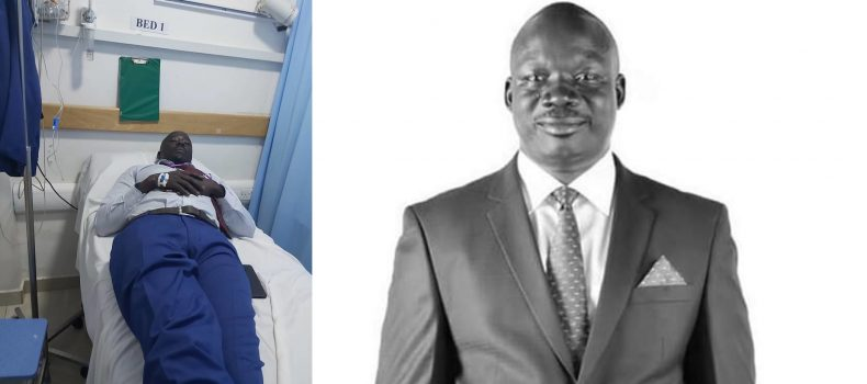 Hon Odonga Otto punched by fellow MP.