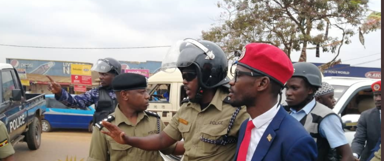 Presidential Seat 2021: Bobi Wine arrested,his first consultative meeting blocked.