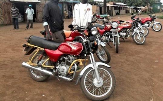 Mbarara Boda Boda rider survives being murdered.