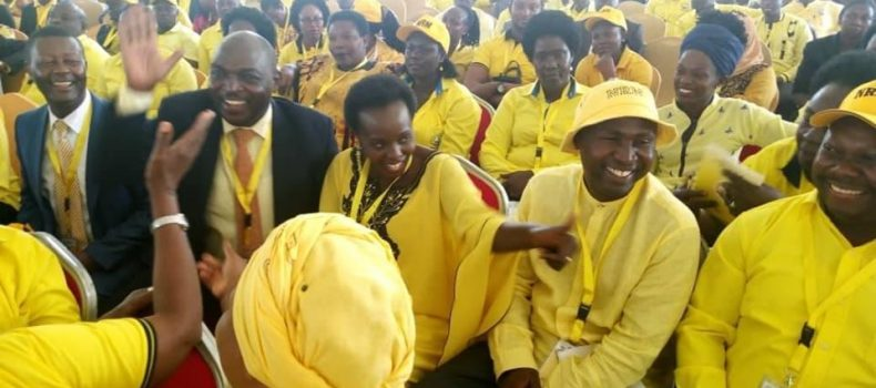 Rebel MPs attend NRM national meeting.
