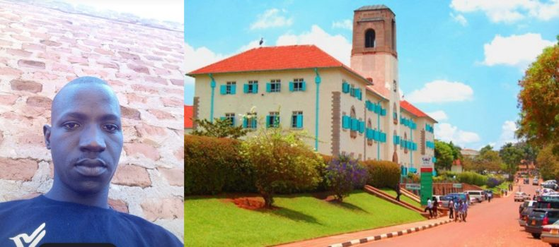 Meet Makerere University's Best Male Graduand who Painted Hall Rooms and Cleaned Restaurants for Food.