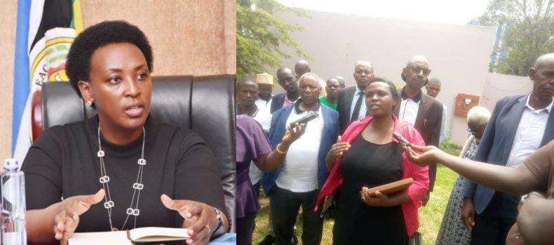 Southwestern Uganda farmers bitter with former PPS Kamukama and Minister Kabatsi.