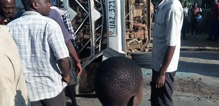 16 injured in Rukungiri Bus Accident.