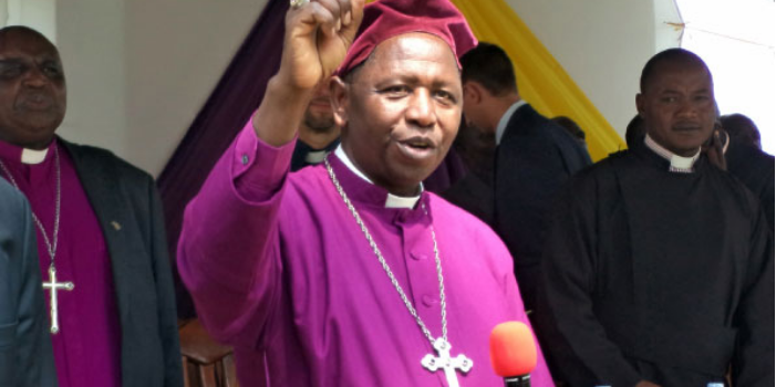 Bishop Stanely Ntagali calls upon Ugandans to say no to commercialization of politics come 2021.