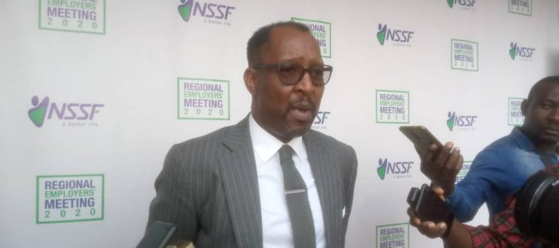 We are ensuring that all processes are done online – NSSF MD Richard Byarugaba.