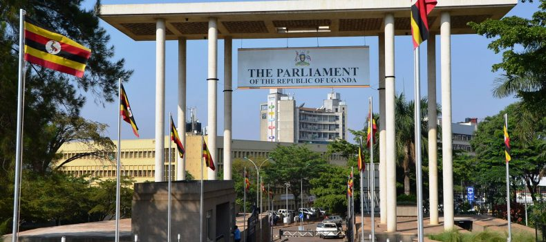 Gunshot reported at Parliament as two Strangers jump from visitors' gallery.