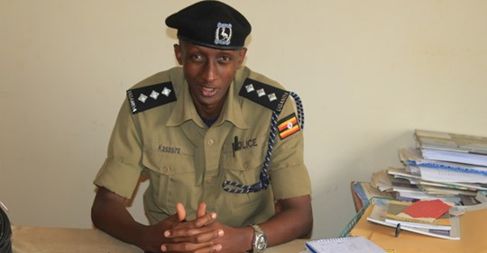 Mbarara police stuck with unidentified dead body.