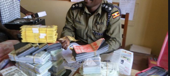 Man Held over Counterfeit Money in Kabale District.