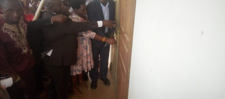 Bushenyi-Ishaka municipal offices finally opened ahead of Minister Magezi's visit.