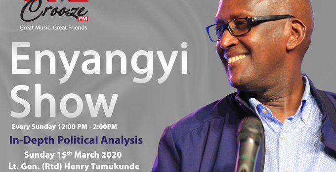 Lt. Gen. (Rtd) Henry Tumukunde to explain his 2021 Presidential bid on Crooze Fm.