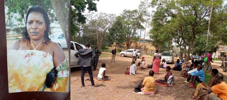 Rwebikoona old market trader collapses,dies after market closure