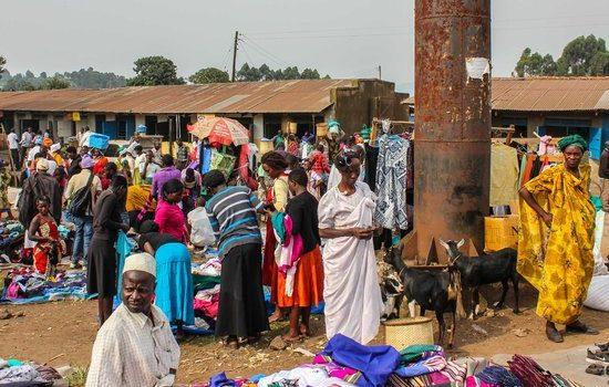 Kabale vendors Defying COVID -19 Directives.