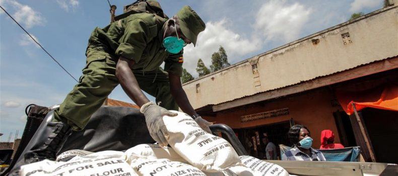 Ibanda RDC warns people to stop looking for Relief food from his office