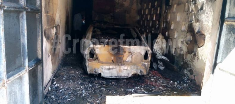 Fire destroys Ntare School Headteacher's car and other properties