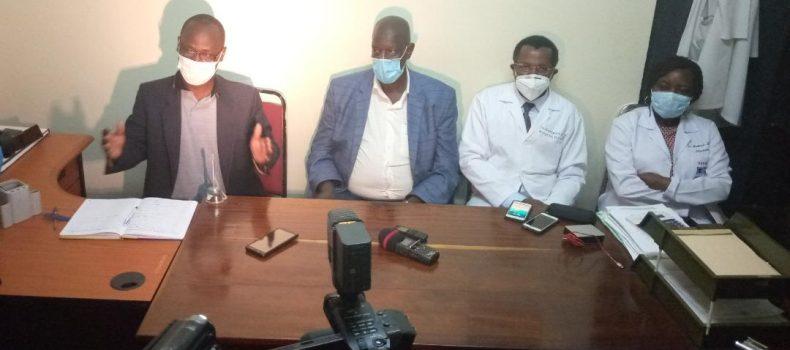 Mbarara regional referral admits a COVID-19 patient