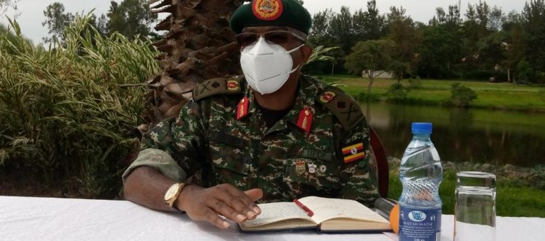 UPDF says Inch by Inch deployment is impossible,no truck driver will be allowed into Uganda without a 'COVID_19 Negative' certificate
