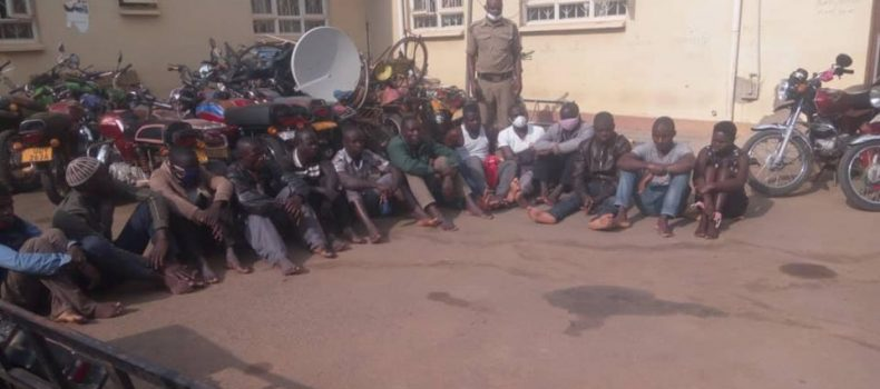 Curfew & Lockdown: 14 arrested and over 20 motorcycles impounded in Mbarara