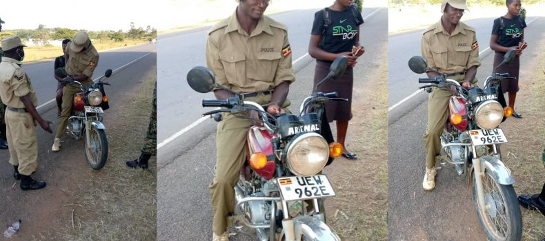 Mbarara Police officer and Civilian arrested for using police uniform to beat checkpoint