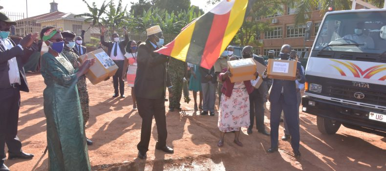 Ministry of Health flags off over 700,000 face masks to border districts