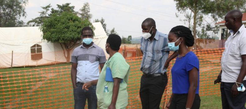 Ankole regional health workers receive COVID-19 training, blame makerere on fake results