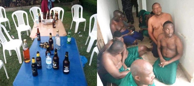 At least 30 people arrested while drinking alcohol and others in Nansana sauna