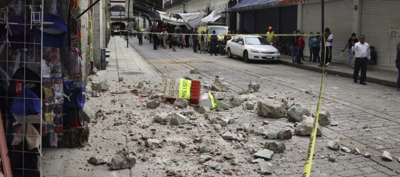 Earthquake kills at least five in Mexico