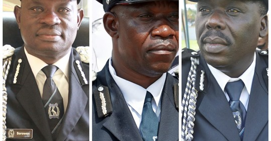 IGP makes changes in three directorates of the Uganda Police Force