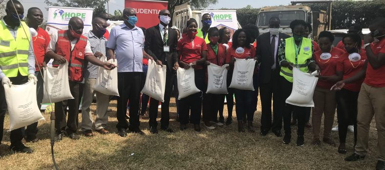 Prudential Uganda donates to the Vulnerable in Mbarara District