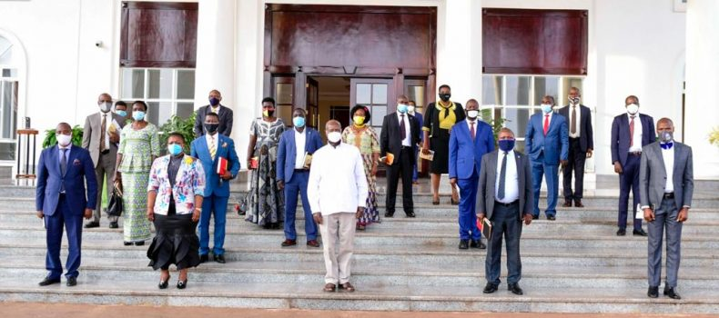 16 'Rebel' MPs meet President Museveni,seek forgiveness