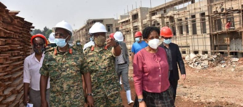 Mbuya UPDF National Referral Hospital is near completion – Hon Adolf Mwesige