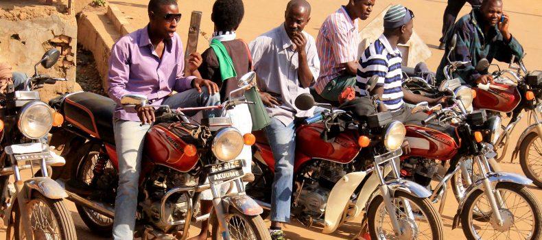 Boda boda riders employ teachers to write passenger details