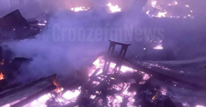 Over 600 Nyamityobora-Mbarara traders count losses after fire outbreak