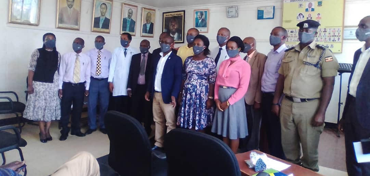 Distribution of Gov't Face Masks Underway in Mbarara District