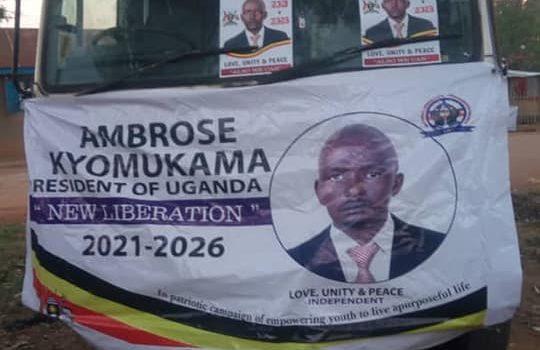 Mbarara Presidential Aspirant arrested