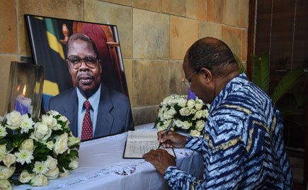 Mkapa to be laid to rest today
