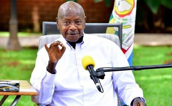 President Museveni tests for COVID19