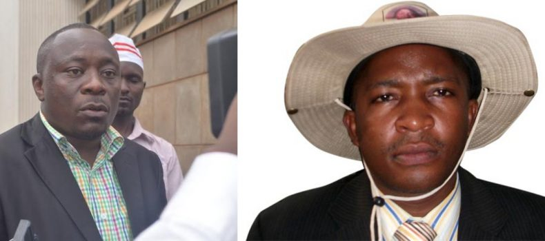 Buhweju MP Mwijukye and former Rwampara MP Kyamadidi lock horns