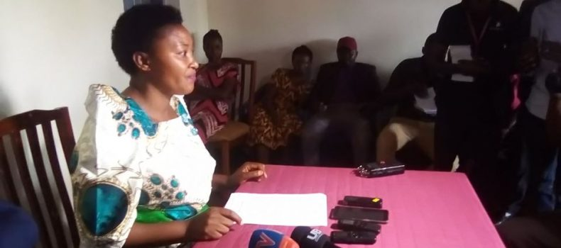Kasese woman MP Winnie Kizza says she won't contest again